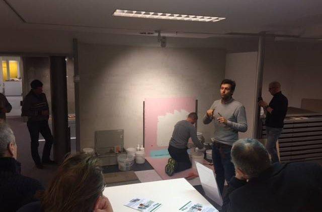 Kerakoll demo - Tegelbedrijf De Ganck