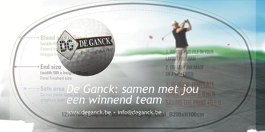 Golftornooi - Tegelbedrijf De Ganck